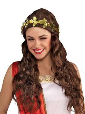 Metal Gold Leaf Headband