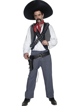 Adult Mexican Bandit Costume