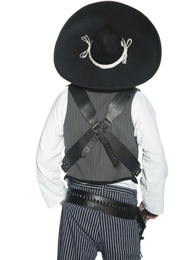 Mexican Bandit Sombrero - Back View