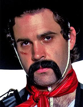 Mexican Handlebar Moustache