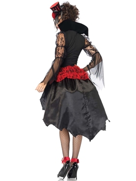 Adult Midnight Mistress Costume - Back View