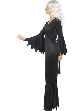 Adult Midnight Vamp Costume - Back View