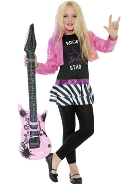 Mini Glam Rockstar Costume