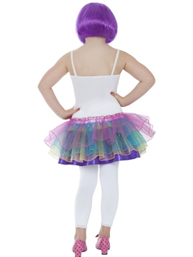 Child Mini Katy Perry Candy Girl Costume - Side View