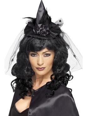 Mini Black Witch Hat
