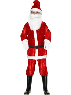 Child Mini Santa Costume