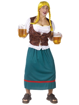 Adult Miss Oktoberbreast Costume