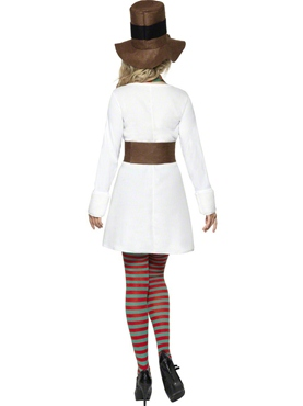 Adult Miss Snowman Costume - Side View