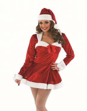 Adult Missy Clause Costume Thumbnail