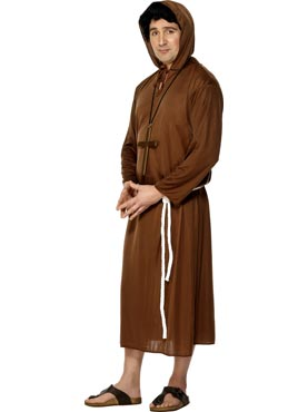 Adult Monk Costume