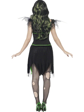 Adult Monster Bride Costume - Side View