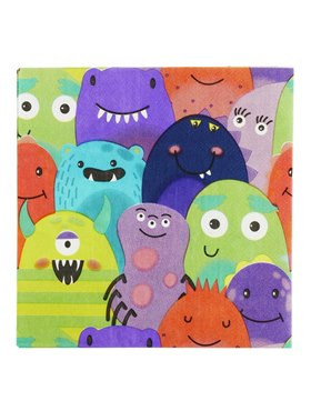 Monster Tableware Party Napkins