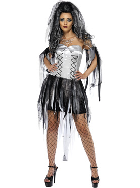 Adult Monster's & Mummies Bride Costume