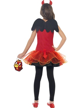 Child Moshi Monsters Diavlo Costume - Side View