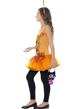 Child Moshi Monsters Katsuma Costume - Back View