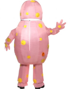 Adult Inflatable Mr Blobby Costume - Side View