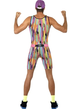 Adult Mr Motivator Costume - Side View