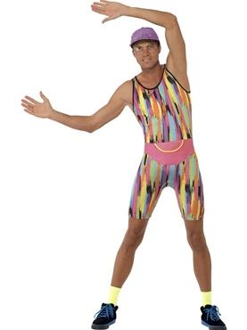 Adult Mr Motivator Costume