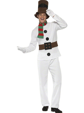 Adult Mr Snowman Costume