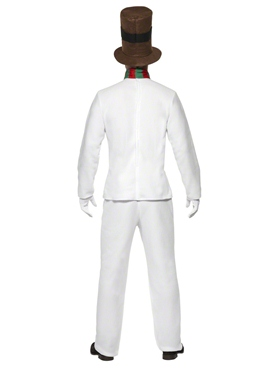 Adult Mr Snowman Costume - Side View