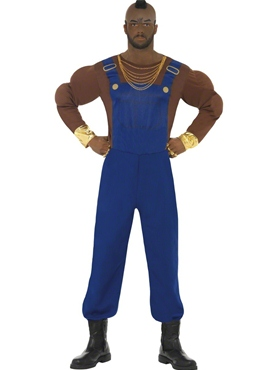 Adult Mr T Economy Costume