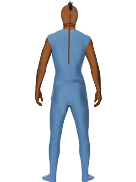 Adult Mr T Second Skin Costume - Side View