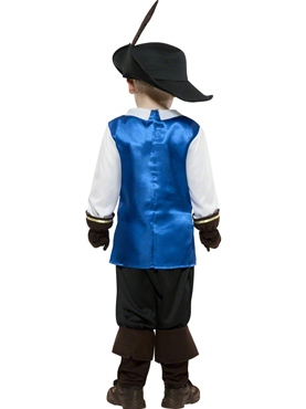 Child Musketeer Costume - Side View