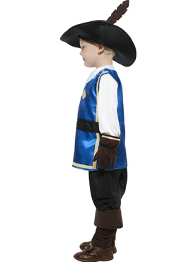 Child Musketeer Costume - Back View
