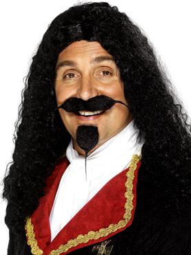 Musketeers Wig Black