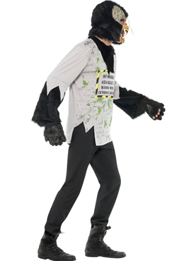 Adult Mutant Monkey Costume - Back View