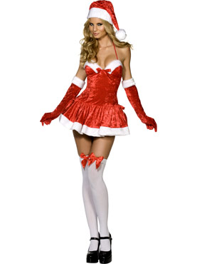 Naughty Miss Santa Costume