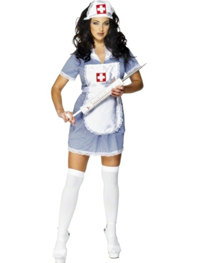 Adult Naughty Nurse Costume