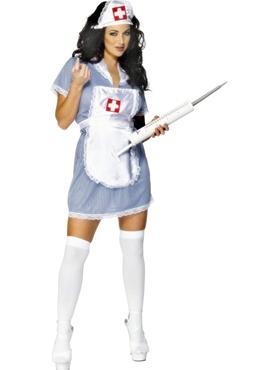 Sexy Brunette Nurse