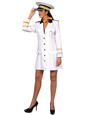 Adult Deluxe Navy Officer Costume