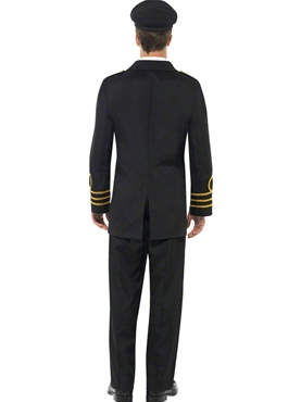 Adult Navy Officer Costume - Side View