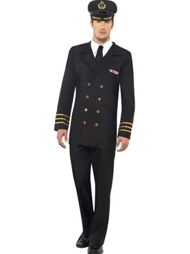Adult Navy Officer Costume Thumbnail