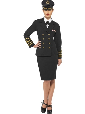 Adult Navy Officers Costume Thumbnail