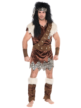 Neanderthal Man Costume Couples Costume