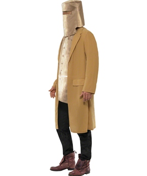 Adult Ned Kelly Cowboy Costume - Side View