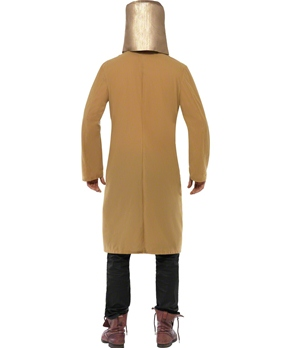 Adult Ned Kelly Cowboy Costume - Back View