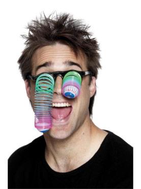 Neon Droopy Eye Specs