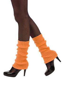 Neon Orange Leg Warmers