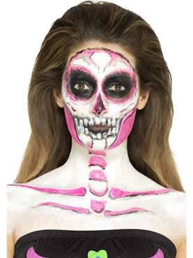 Neon Skeleton Liquid Latex Kit - Back View