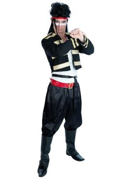 Adult New Romantic Adam Ant Costume