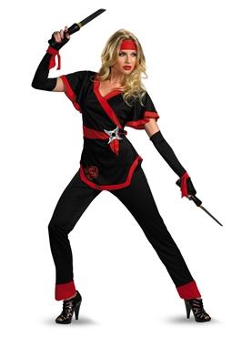 Adult Ninja Dragon Lady Costume