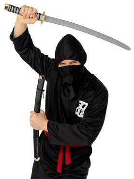 Ninja Sword And Scabbard Black