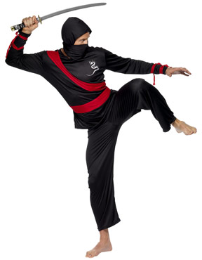 Adult Ninja Warrior Costume Thumbnail