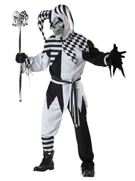 Adult Nobodys Fool Jester Costume