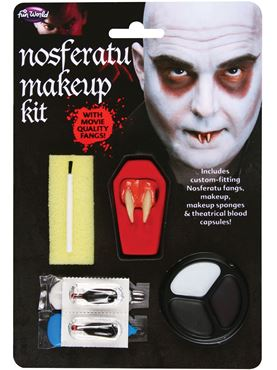 Adult Nosferatu Make Up Kit 9533n Fancy Dress Ball