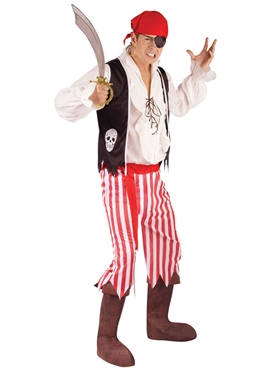 Adult Male Pirate Costume Thumbnail